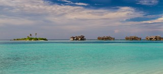 Maldives Beach Panorama II