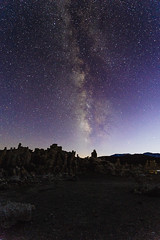 IMG_6132 (Hallucination_world) Tags: lake night star mono milky milyway