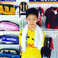 มาเชียร์หลานชายแข่งแบดมินตัน Chiangmai-Bangkok 2015