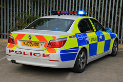 South Yorkshire Police BMW 530d Driver Training Vehicle (PFB-999) Tags: car training lights traffic south yorkshire rear police shelf bmw vehicle leds driver roads parcel reds saloon grilles unit 5series strobes rpu lightbar policing syp 530d fendoffs yj09hdx