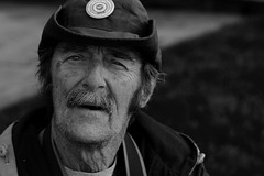 """Stranger 2: The """"Loco Local"""" (kendra.wittwer) Tags: old man fall beautiful eyes soft sweet homeless kind age kendrawittwer"""