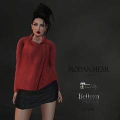 .M.O.D.A.N..M.E.S.H. Sweater NEW (thenamelessmodan - M.O.D.A.N..M.E.S.H. - gojo crea) Tags: life new people beach female hair sweater outfit clothing tank pants mesh boots photos body top coat avatar jewelry tools full event jacket short second trend perm creator belleza jumpsuit pant tmp creations accessory the modan maitreya slink modanmesh