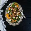 Ensalada ECO saludable (Frabisa) Tags: salad tangerines persimmons honey miel ensalada mandarinas arugula vinaigrette caquis vinagreta rúcola