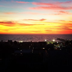 Monterey Rooftop Sunset
