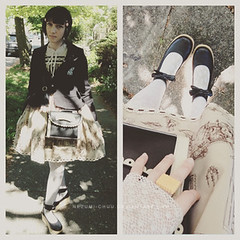 050215-01 (nezumichuu) Tags: cute me fashion lolita nezumi lolitafashion dailycoordinate mylifewithmister