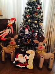 Decorações de Natal (Pina & Ju) Tags: christmas natal navidad handmade artesanato gingerbread ornaments feltro patchwork papainoel árvore decoração rena duende tecido enfeite elfo bolachinha