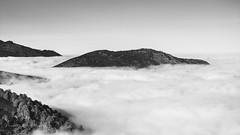 Paysage (rapetout14) Tags: white black france montagne landscape noiretblanc nb nuages paysage brume pyrnes midipyrnes picdujer croixblanche arrodets