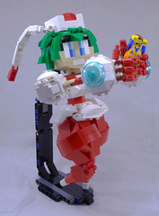 Marina Liteyears (lingonkart) Tags: game marina robot lego shake videogame maid android gynoid moc mischiefmakers liteyears