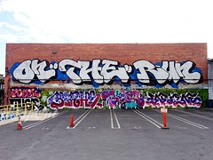 OTR (UTap0ut) Tags: california art cali graffiti la los paint angeles socal cal blah graff enron fobek begr tusle utapout