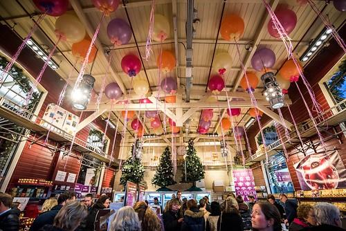 Cloudbuster Rond Albert Heijn Allerhande Kerstfestival Spoorwegmuseum Utrecht