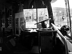 Out of Service (~nevikk~) Tags: bus interior controls driver windshield steeringwheel sidewindow mtc