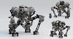 """Weaver"" Medium Maintenance Hardsuit (Garry_rocks) Tags: lego alien mecha hardsuit"