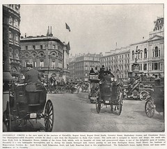 the descriptive album of London  1896  Piccadilly Circus (janwillemsen) Tags: london album victorian 1896 piccadilycircus