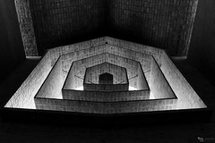 Inner light (Picardo2009) Tags: cristo durazno eladiodieste iglesiasanpedro tacuarembo uruguay abstract abstracto christ church religion travel picoftheday simmetric blackwhite blanconegro cathedral
