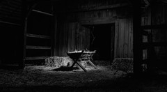 The Calling of the Light (JDS Fine Art & Fashion Photography) Tags: farm light inspirational spiritual woodenhouse night illumination straw