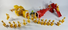 The Sneetches (PurpleSprout458) Tags: lego moc drseuss