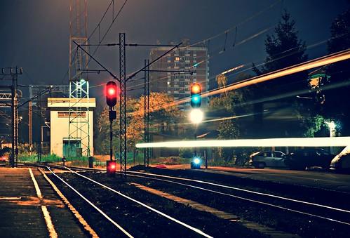 Night train motion