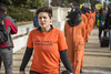 Chantal de Alcuaz Leads an Anti-Torture March on the 15th Anniversary of Guantánamo's Opening (Shrieking Tree) Tags: guantanamo bagram kandahar blacksites indefinitedetention cia torture protest vigil detainee gitmo gtmo murder waterboarding donaldtrump demonstration abughraib humanrights boilersuit abuse humiliation america usa witness against