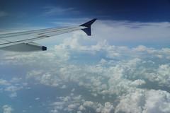 Vuelo a Udaipur (Txaro Franco) Tags: cielo nubes martesdenubes avión vuelo fly aircraft volar clour hodeiak nwn