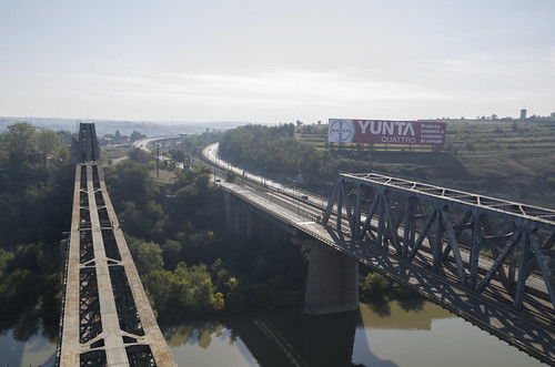 Anghel Saligny and Cernavodă Bridges, 05.10.2014.