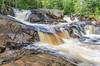Yellow Dog Falls (Aaron Springer) Tags: michigan upperpeninsulaofmichigan yellowdogfalls waterfall woodland forest rock water tree outdoor nature landscape