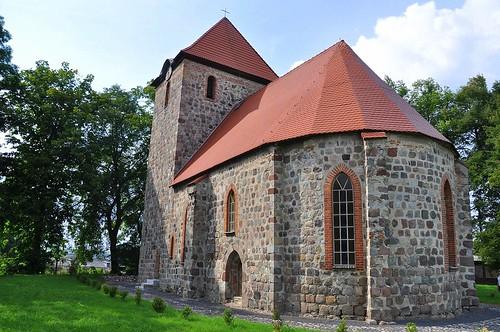 Late romanesque church in Dolsko
