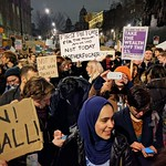 Muslim ban protest, London thumbnail
