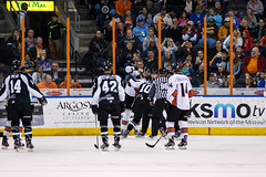 "Missouri Mavericks vs. Utah Grizzlies, December 28, 2016, Silverstein Eye Centers Arena, Independence, Missouri.  Photo: John Howe / Howe Creative Photography • <a style=""font-size:0.8em;"" href=""http://www.flickr.com/photos/134016632@N02/31813515052/"" target=""_blank"">View on Flickr</a>"