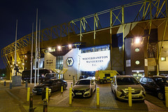 The Molineux Stadium, Wolverhampton 14/10/2016 (Gary S. Crutchley) Tags: wolverhampton wanderers molineux stadium wolves uk great britain england united kingdom urban town townscape black country blackcountry staffordshire staffs west midlands westmidlands nikon d800 history heritage local night shot nightshot nightphoto nightphotograph image nightimage nightscape time after dark long exposure evening travel street slow shutter raw football soccer 1635mm f40g af s ed nikkor