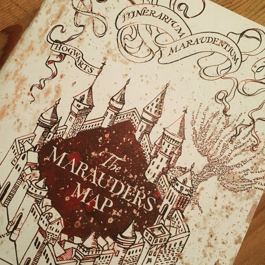 Harry Potter Map Of England.The World S Best Photos Of Hogwarts And Map Flickr Hive Mind