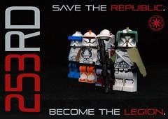 253rd Propaganda (Ψik') Tags: 253rd elite legion lego star wars clone trooper propaganda republic roleplay