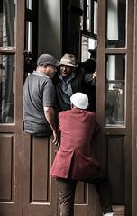 4 hats (janet.capling) Tags: cuba havana oldcity three men four hats conversation meetng cubans liaison