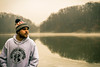 Health and Pleasure (daddymaverick91) Tags: dan pleasant valley pv glacier lake mist haze backdrop hoodie clothing gear fashion mill creek park youngstown ohio