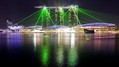Illumination (radimersky) Tags: marina bay sands singapore singapur illumination night noc iluminacja oświetlenie odbicie reflection asia azja city miasto woda water 新加坡 சிங்கப்பூர panasonic dmclx100 micro four thirds 43 nocne lumix 3840x2160 landscape cityscape