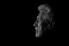 Life (mgdlima) Tags: canon6d ef70200mmf28lisiiusm bw belohorizonte brasil brazil man old white hair perfil blackandwhite pb monochrome people face