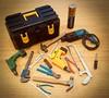 Tool set 🔨🔧🔩⛏ (Princess Stitch) Tags: tools toolbox 16scale bjdprops bjd miniature playscale
