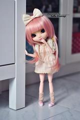 Loving pink (·Yuffie Kisaragi·) Tags: doll pullip papin obitsu rewigged rechipped