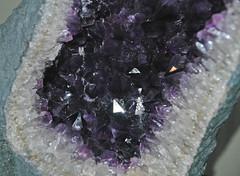 Amethyst geode (Ametista do Sul, Rio Grande do Sul, Brazil) 2 (James St. John) Tags: amethyst quartz silicate silicates mineral minerals ametista do sul rio grande brazil geode geodes