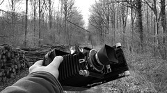 (salparadise666) Tags: voigtländer bergheil 9x12 nils volkmer vintage camera germany drop bed bw monochrome