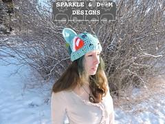 Bulbasaur 01e (zreekee) Tags: pokemon bilbasaur toque sparkledoomdesigns saskatchewan canada crochet handmade