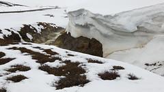 "Icelandic ""Glamping"" (lunaryuna) Tags: iceland centralnorthiceland myvatnregion volcaniclands krafla hotspring snow snowinmay thiswassupposedtobespring season seasonalchange travel journey voyage roundtrip motorhome funny mountainbrook lunaryuna"