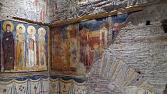 Corner view, Theodotus Chapel, c. 741-752, Santa Maria Antiqua, Rome