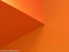 Day 21/365 A study of minimalism (Tewmom) Tags: 365the2017edition 3652017 day21365 21jan17 minimalism color orange shapes geometric light abstract
