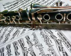 Clarinet (Noemí28) Tags: clarinet music konzert weber woodwind sheet notes