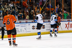 "Missouri Mavericks vs. Wichita Thunder, February 3, 2017, Silverstein Eye Centers Arena, Independence, Missouri.  Photo: John Howe / Howe Creative Photography • <a style=""font-size:0.8em;"" href=""http://www.flickr.com/photos/134016632@N02/32561322982/"" target=""_blank"">View on Flickr</a>"