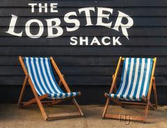 Here Comes Summer (Nigel Jones QGPP) Tags: whitstable lobstershack oysters seafood restaurant seaside beach deckchair summer
