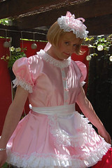 Vikki_pink (shellyanatine) Tags: sissy sissymaid sissydress feminised crossdressing sissification pinksissydress