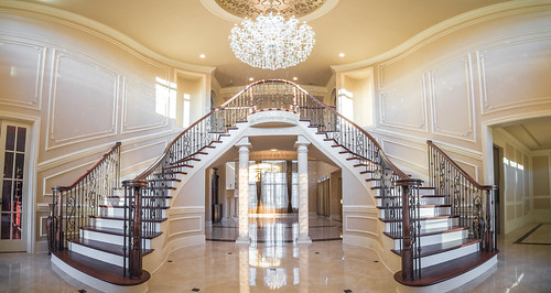Andronx Double curve stair Charlotte NC