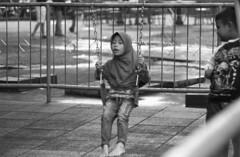 Push Me (Firly Firman) Tags: agfa100 agfaapx100 agfa people pose spotmatic malang pentaxspotmatic streetphotography blackandwhite pancolar 50mmf18 pancolar50mm bnw 35mmfilm filmphotography monochrome kid