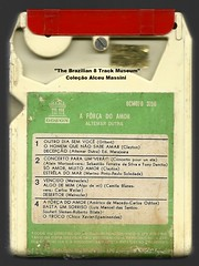 "1972 - Altemar Dutra / A Força do Amor - brazilian 8 track - fita cartucho de 8 pistas (""The Brazilian 8 Track Museum"") Tags: alceu massini vintage collection música romântica bolero"